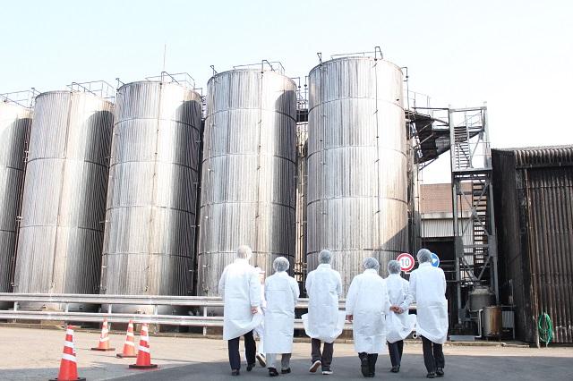 下総醤油 工場